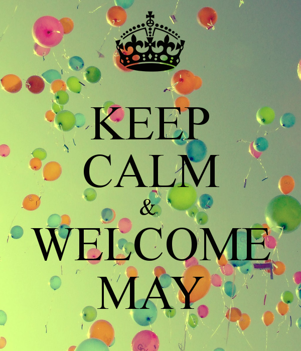 Welcome May Images for Whatsapp DP