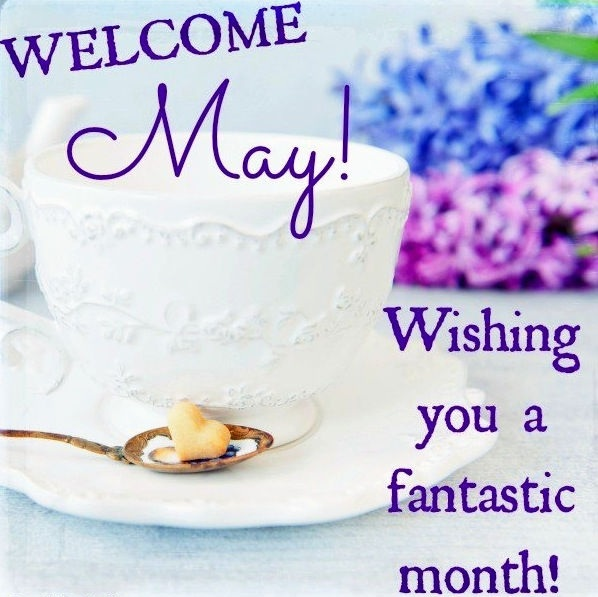 Welcome May Month Images