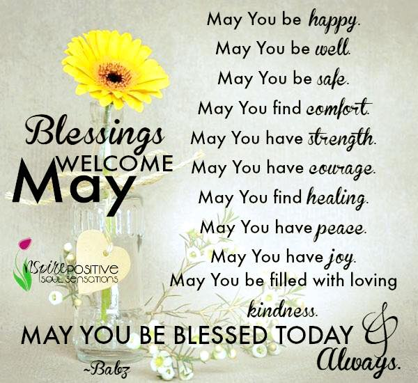 Welcome May Pinterest