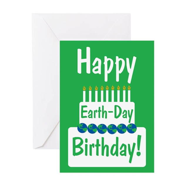 happy Earth Day Birthday Greeting