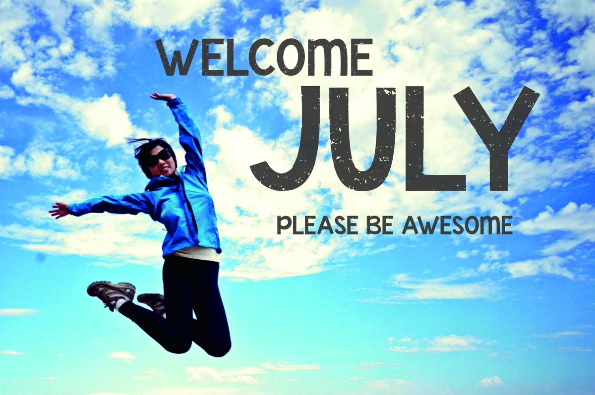 2018 Welcome July Images