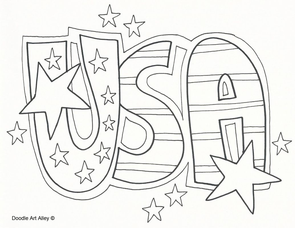 American Celebrating Independence Day Coloring Pages Best Of Memorial for Kids