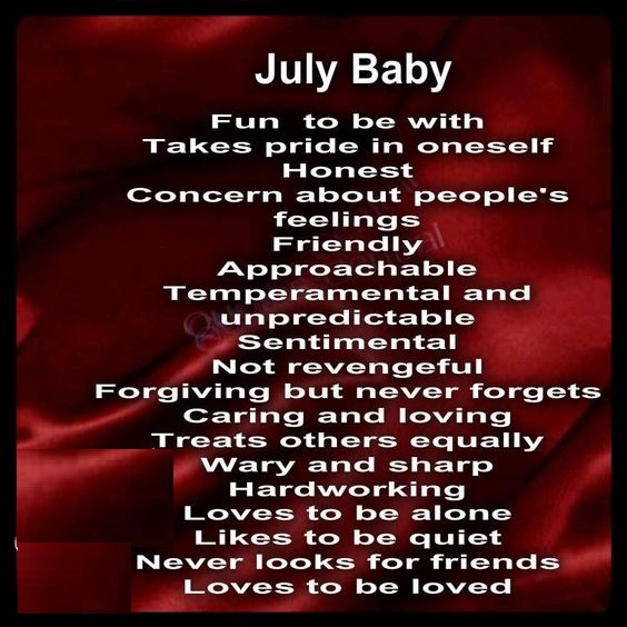 Beautiful July Birthday Images Quotes