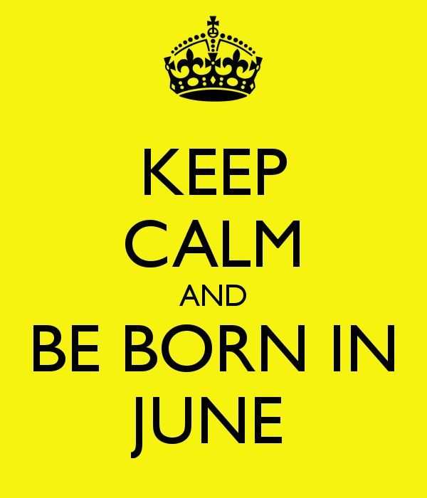 Birthday June Born Quotes