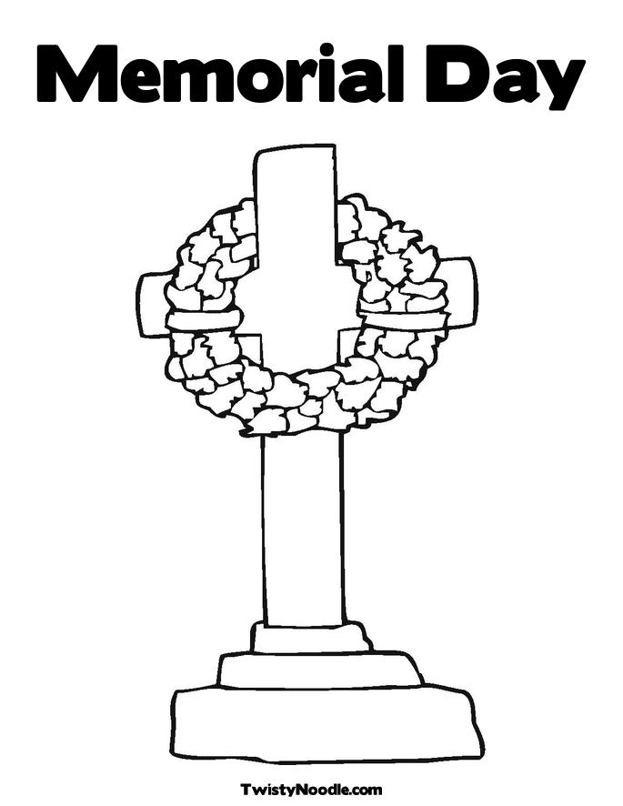 Christian Coloring Pages for Memorial Day