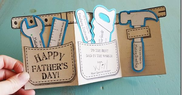 Fathers Day 2018 Craft Idea