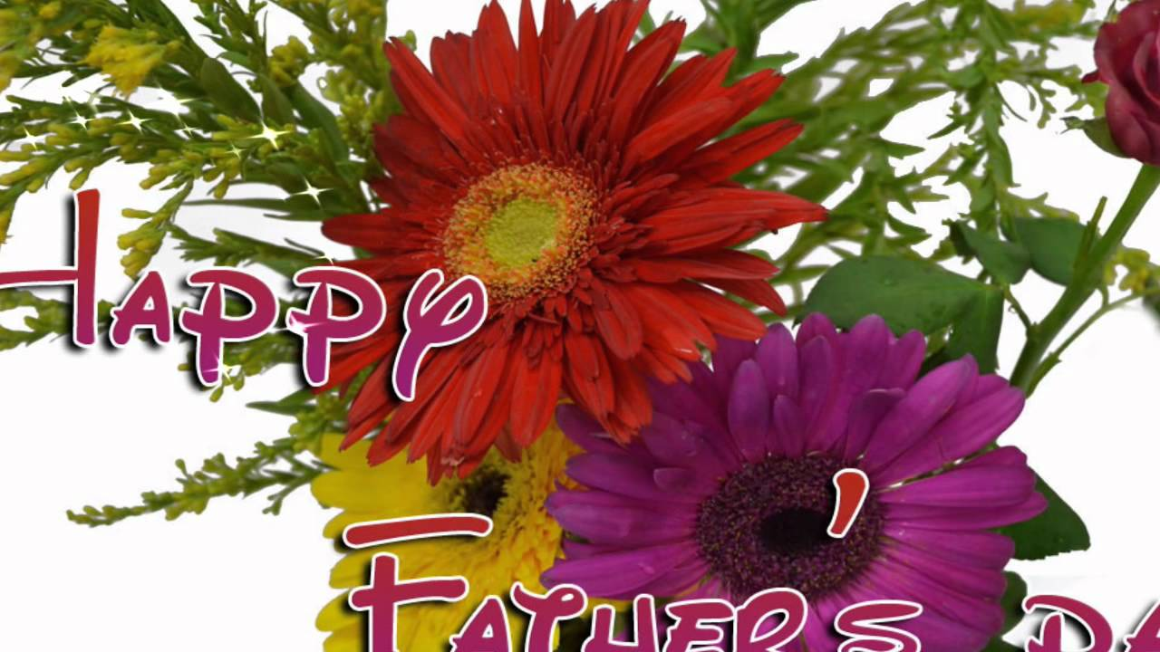 Fathers Day Cards with Flower