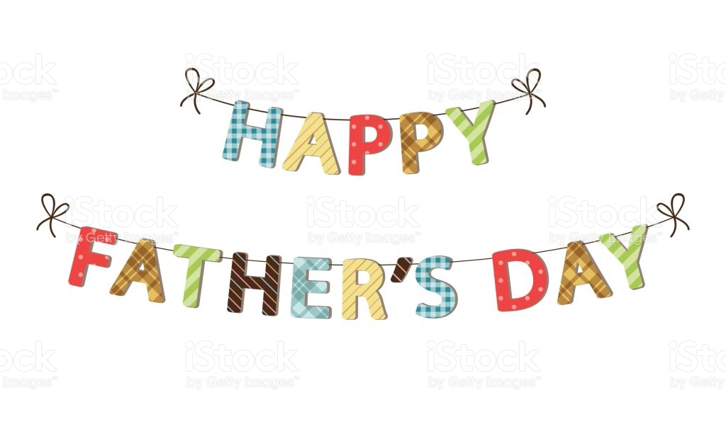 Fathers Day Clip Art Banner