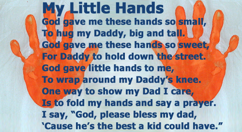 Fathers Day Cute Poem