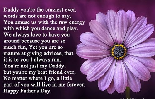 Fathers Day Poem Image