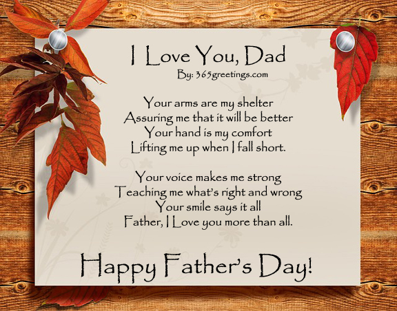 Fathers day poem and wishes