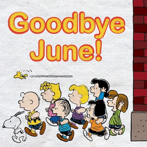 Funny Good Bye June Hello July Images Animates