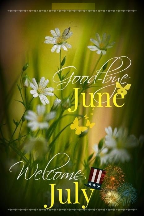 Good Bye June Hello July Images Summer