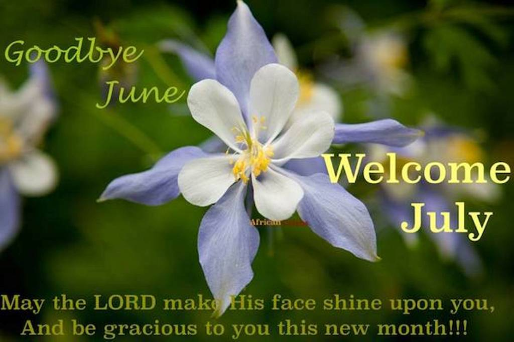 Goodbye June Hello July Wishes Messages