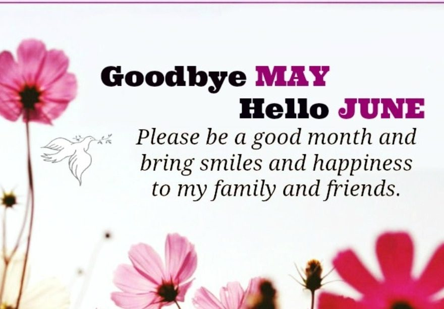 Goodbye May Hello June Quotes