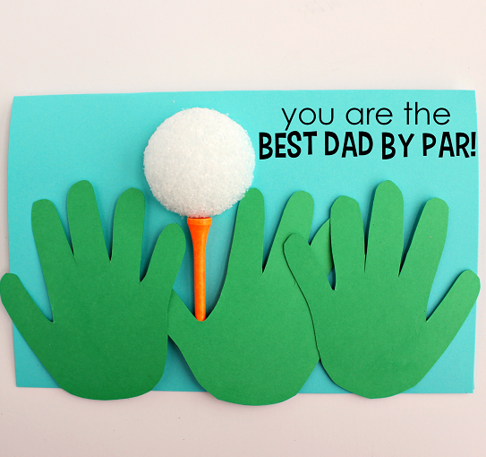 Happy Fathers Day Craft Idea