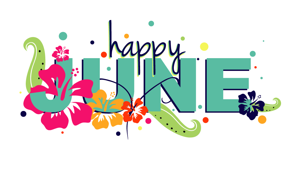 Happy June Clipart Images