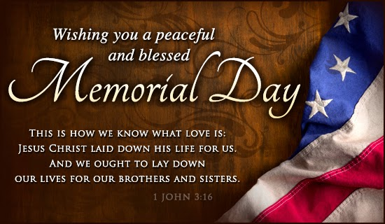 Happy Memorial Day Wishes Image