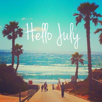 Hello July Images Nature Template