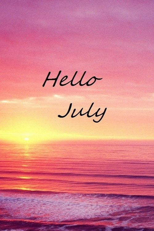 Hello July Images Ocean Beautiful Sunset