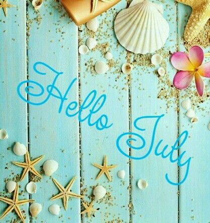 Hello July Wishes Images Clipart