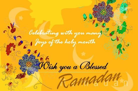 Holy Month of Ramadan Messages