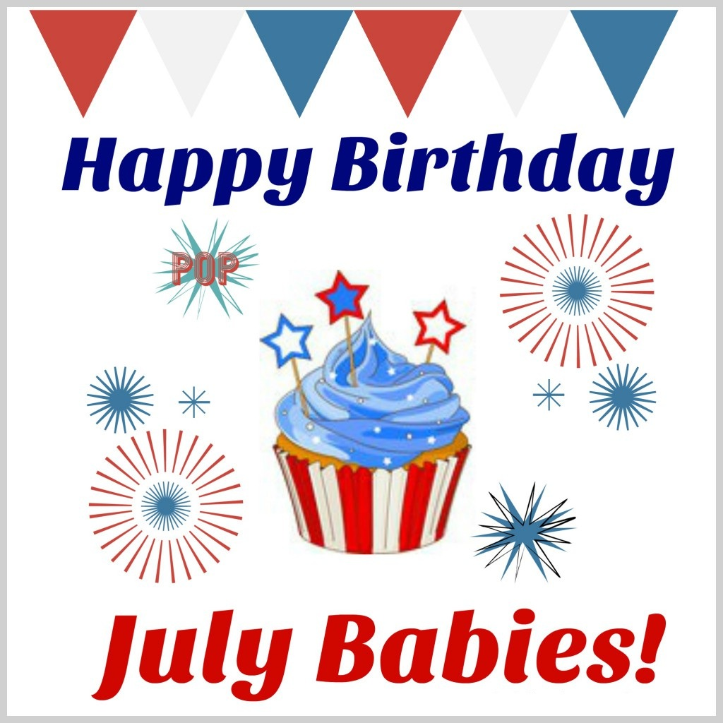 July Birthday Images, Quotes Card Message