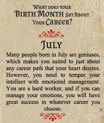 July Birthday Images, Quotes Message Meaning