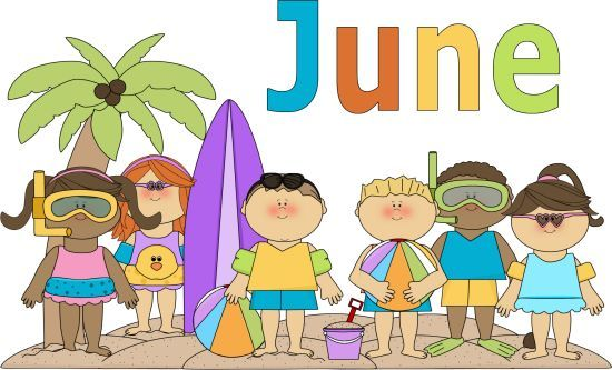 June Clipart Free