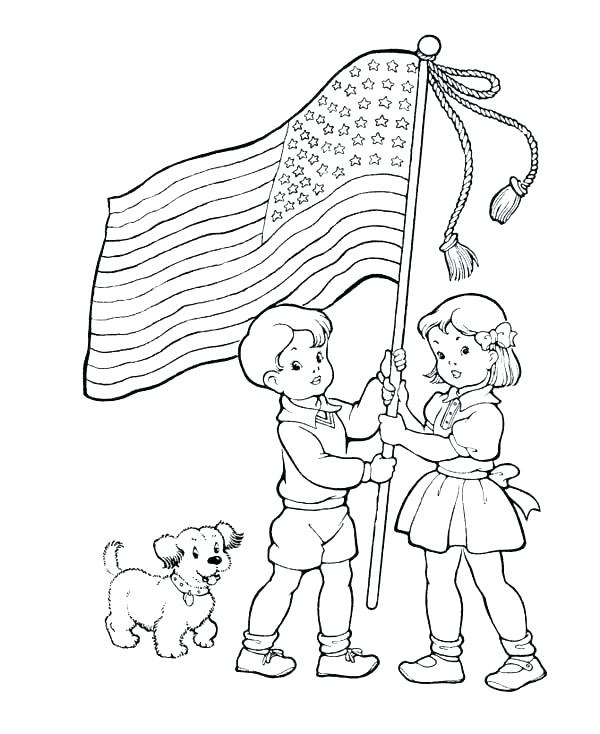 Memorial Day Coloring Pages Print
