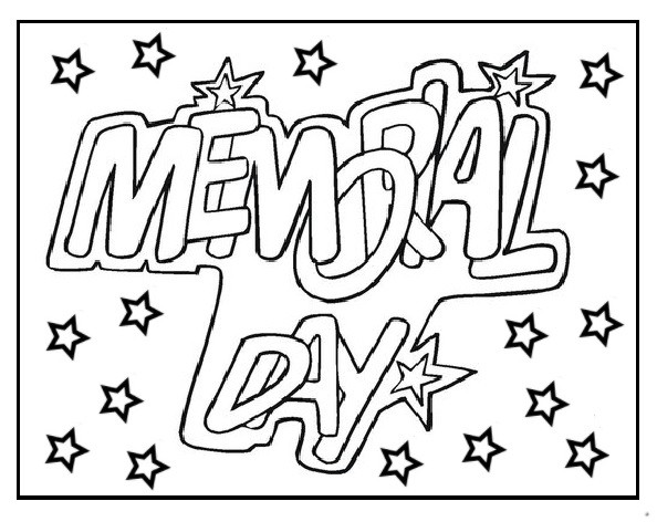 Memorial Day Coloring Pages for Adults