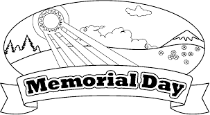 Memorial Day Images to Color