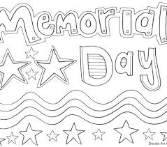 Memorial Day Pictures to Color