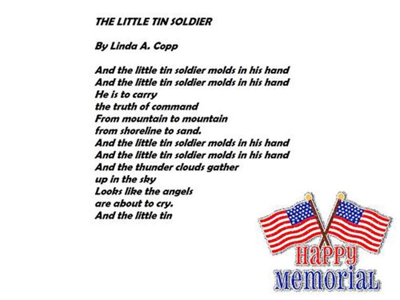 Memorial Day Poems for Kindergarten