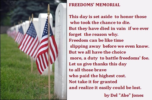 Memorial Day Poems for Veterans