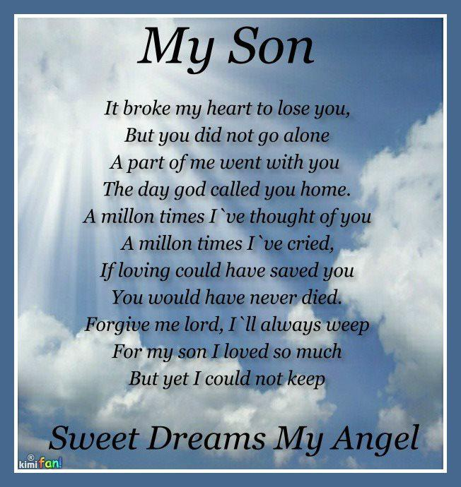 Memorial Quotes for Son