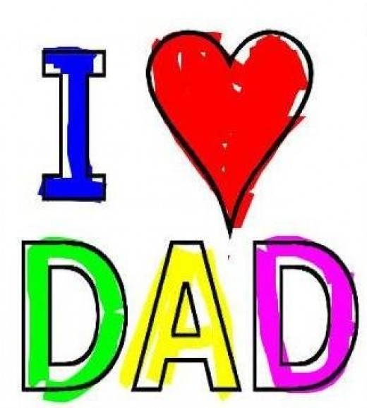 Online Fathers Day Craft Idea
