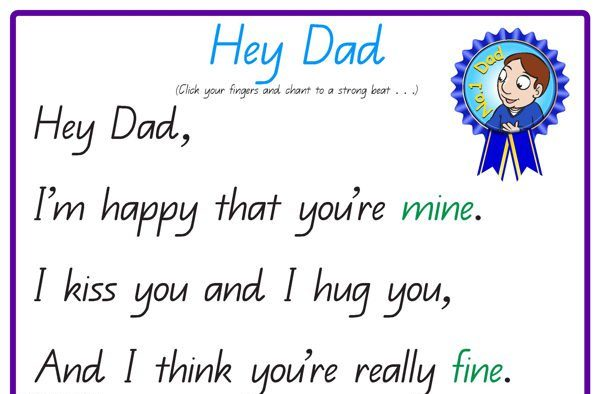 Online Fathers Day Poem
