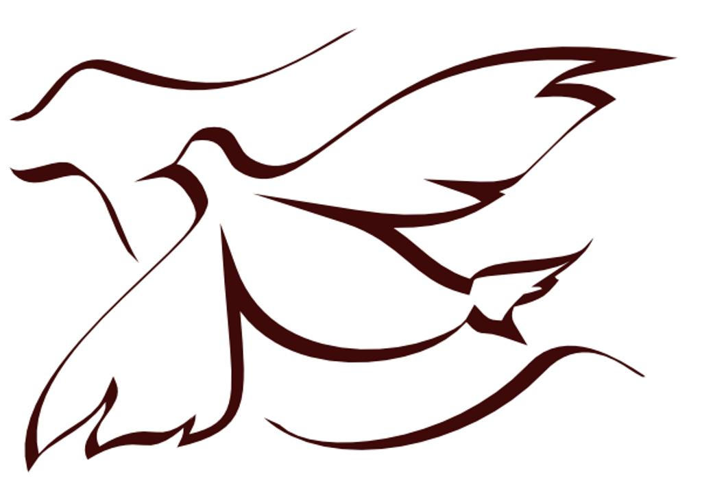 Pentecost Clipart Black and White