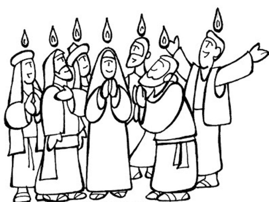 Pentecost Coloring Sheets