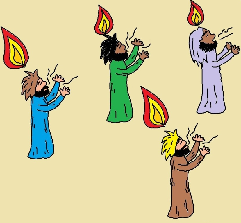 Pentecost Day Clipart
