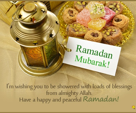 Ramadan Blessings Messages