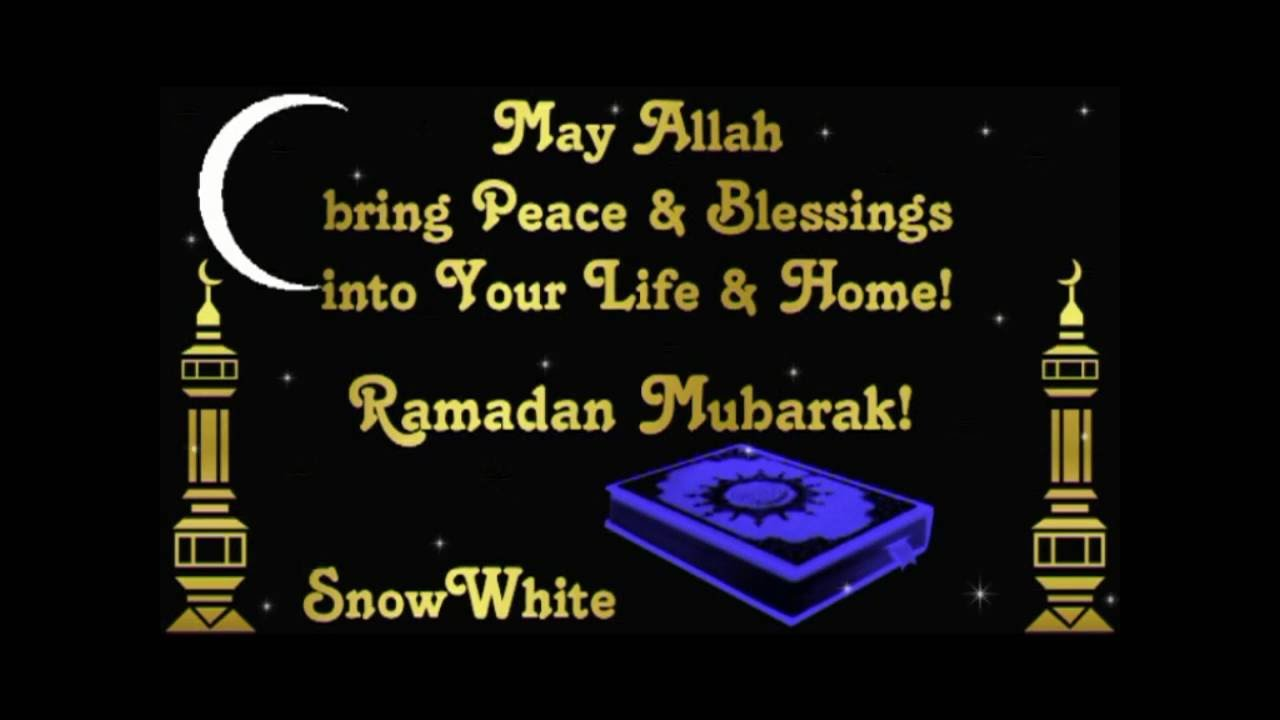 Ramadan Messages Blessings