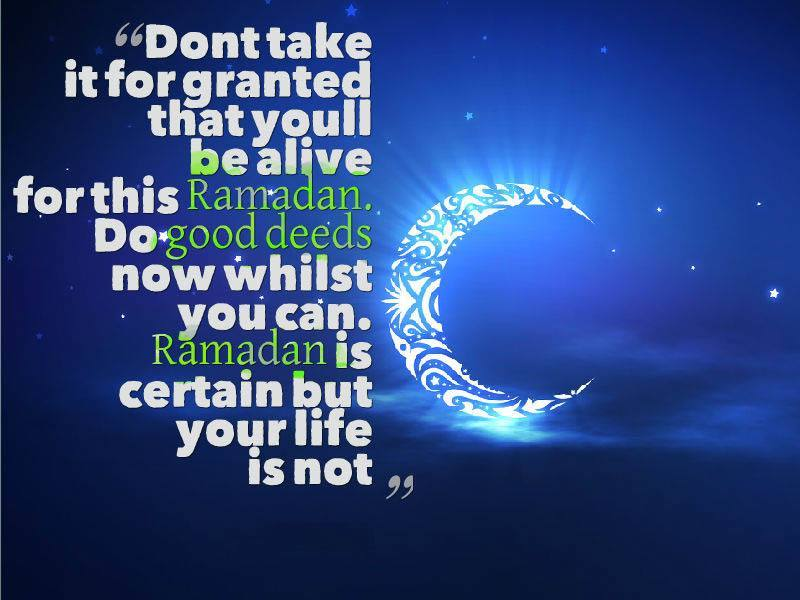 Ramadan Mubarak Messages Quotes
