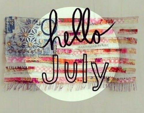 Template Hello July Images Summer