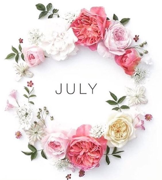 Welcome July Images Floral Wishes