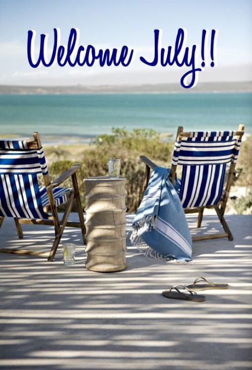 Welcome July Images Holidays