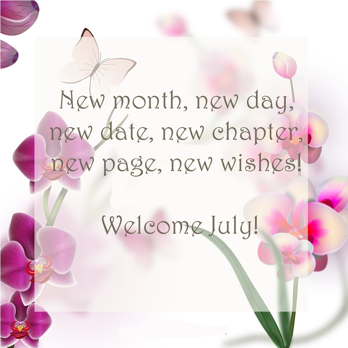 Welcome July Motivational Quotes