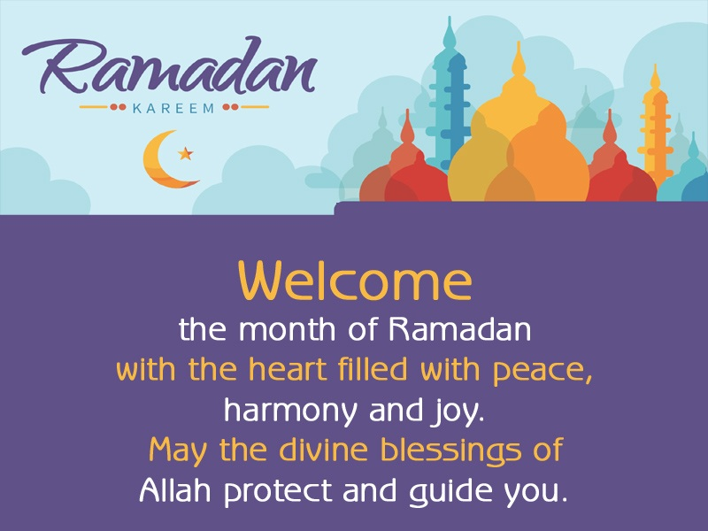 Welcome Ramadan Messages
