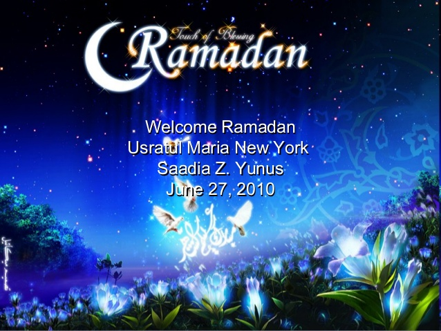Welcome Ramadan Wishes